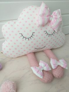 Prêt à expédier coussin nuage nuage de coussin coussin image 1 Cute Pillows, Baby Pillows, Kids Pillows, Sewing Toys, Sewing Crafts, Diy Bebe, Baby Sewing Projects, Baby Kit, Sewing Pillows