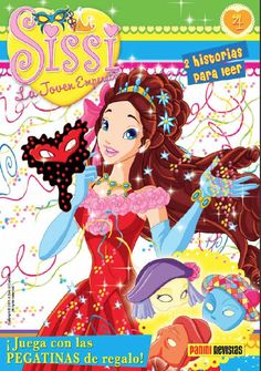 Revista infantil Sissi nº 4 Sissi, Anime Art, Disney Characters, Fictional Characters, Teen, Disney Princess, Children's Magazines, Emperor, Stickers