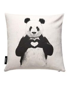 All You Need Is Love as Cushion Cover by Balázs Solti | JUNIQE