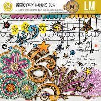 lynn marie Sketchbook 02 *M3 Sept