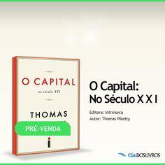 #Prevenda O que sabemos sobre a distribuição da riqueza e a sua evolução desde que existe o capitalismo?   Neste livro sobre economia, o francês Thomas Piketty fala sobre a concentração de riqueza e a evolução da desigualdade. Esse estudo ganhou manchetes nos principais jornais do mundo, gerou discussões nas redes sociais e colheu comentários e elogios de diversos ganhadores do Prêmio Nobel.   Essa é minha dica de hoje. Não deixe de conferir na Cia.: http://s55.me/Qu5piB0