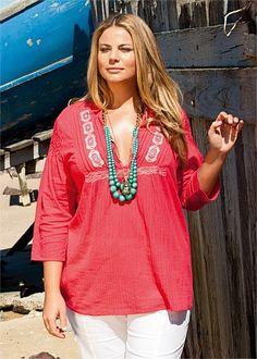 Virtu Wakiki Top #plussize #curvy #fashion