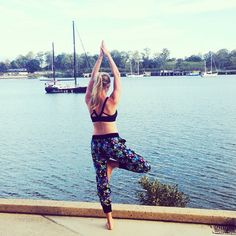 Our beautiful fit friend @lib_yoga wearing the amazing Bloom Harem Pant