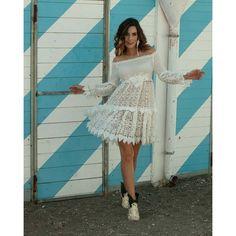 Shop - Antica Sartoria Boho Chic, Travel Wear, Ibiza Fashion, Ibiza Style, Shoulder Dress, White Dress, Boutique, How To Wear, Outfits