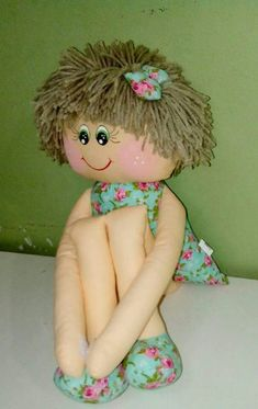 Soft Dolls, Crochet Dolls, Little People, Easter Crafts, Tinkerbell, Couture, Needlework, Embroidery, Disney Princess