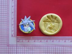 Sonic Character Hedgehog Silicone Push Mold A945 Chocolate Fondant Sugarcraft #LobsterTailMolds
