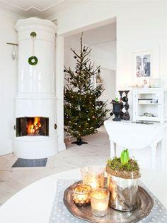 Wystrój świąteczny w stylu skandynawskim - inspiracje - Domoholiczka - blog wnętrzarski