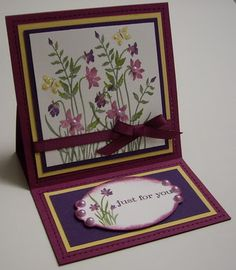 Stamping with Loll: Just Believe Easel Card