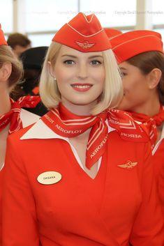 https://flic.kr/p/MRuLhT | Beautiful Stewardess Aeroflot