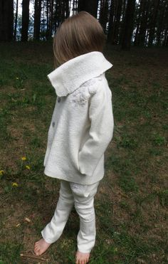Nuno felt soft children unisex jacket by GabijaBrashke on Etsy, $130.00