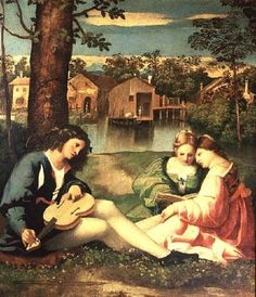 titian s pastoral concert Titian's venetian home was a mecca for many of the community's artistic types he had an especially close friendship with writer pietro aretino aretino is said to have helped titian get some of.