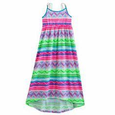 SO Chevron Hi-Low Maxi Dress - Girls 7-16 #Kohls