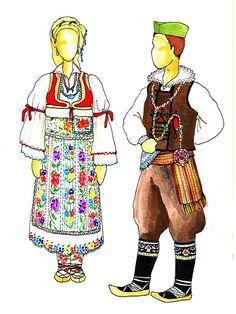 Свечана ношња из Гњиланског краја 19. Век / Gnjilane, end of 19th c.