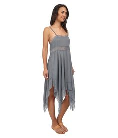 Ali sends the girls off to school in style. Free People dobby dot lace pieced trapeze slip | Pretty Little Liars