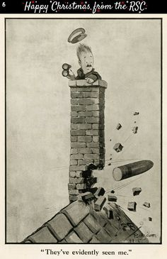 Bruce Bairnsfather cartoon First World War.