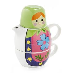 Doll-ways Welcome Tea Set - oBaz
