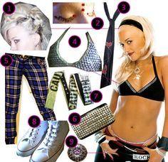 DIY The Look: Gwen Stefani...might be a fun Halloween costume!