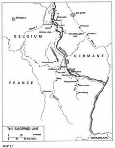 The Siegfried Line Siegfried Line, Ardennes, Luxembourg, World War Two, Germany, France, World War Ii, Wwii, Deutsch