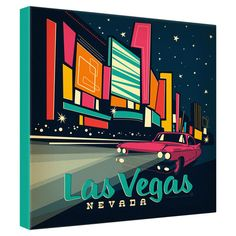 Anderson Design Group Las Vegas Canvas Wall Art