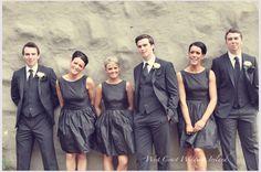 Bridesmaid Inspiration- Mix Or Match Your Beautiful Maids? Wedding Advice, Post Wedding, Fall Wedding, Dream Wedding, Ireland Wedding, Irish Wedding, Bridesmaids, Bridesmaid Dresses, Wedding Dresses