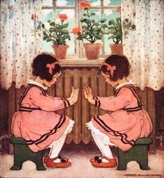 For many years I have loved the art of Jessie Willcox Smith, although I did not realize it was always her work. Born in Phillidelphia.