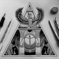 Excellent simple ideas for your inspiration God Tattoos, Body Art Tattoos, Sleeve Tattoos, Script Tattoos, Arabic Tattoos, Dragon Tattoos, Tatoos, Egyptian Goddess Tattoo, Egyptian Tattoo Sleeve
