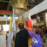 La Virgen del Valle, Patrona Nacional del Turismo y la Pastoral de la Niñez, presentes en el Poncho