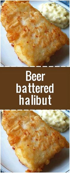 Ingredients lbs halibut filets (or substitute similar firm-fleshed fish) 2 egg whites 1 cup flour teaspoon salt 2 teaspoon canola oil 1 cup beer Directions Cut halibut into pieces, about 3 inches square. Best Halibut Recipes, Salmon Recipes, Grilled Halibut Recipes, Fresh Fish Recipes, White Fish Recipes, How To Cook Halibut, How To Cook Fish, Beer Recipes, Seafood Recipes