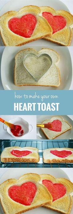 Diy Heart Toast | DIY & Crafts