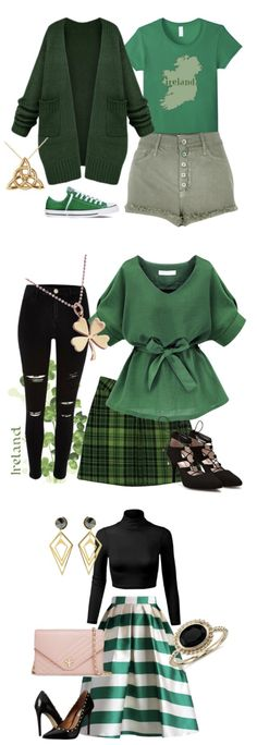 What to Wear on St. Paddy's Day - easy to wear St. Patrick's Day Outfits