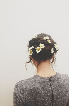 Flowers in the hair , Flowers every where !! Hippie Hugs with Love, Michele    ☪
