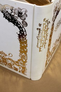 Hot foil printing on parchment