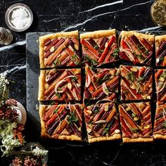 Carrot Tart With Ricotta and Almond Filling