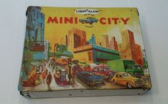 Check out our other items, at Every2nsCounts Store! Light-Glow Mini City Collector Vehicle Vintage Case Ideal Toy Match Box #Ideal
