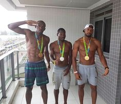 Hot Black Guys, Black Men, Hot Guys, Usain Bolt, Wayde Van Niekerk, Jamaica Culture, Justin Gatlin, Jamaican People, Beast Workout