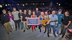 The USO's 2015 USO Holiday Tour provided a dose of entertainment, fun and holiday cheer to over 3,100 service members and their families at military bases in Italy, Djibouti, Afghanistan, Bahrain and Germany.