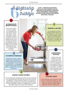Household Organization, Study Tips, Clean House, Helpful Hints, Diy And Crafts, Life Hacks, Good Things, Cleaning, Health
