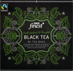 Tesco Finest* Black Tea | By P&W Design Consultants | 2014