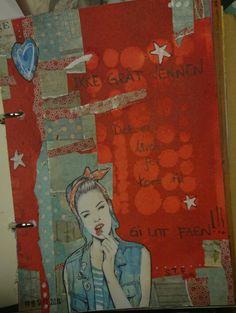 Art journal m tekst fra venn 2014 Journal, Painting, Art, Art Background, Painting Art, Kunst, Paintings, Performing Arts, Painted Canvas