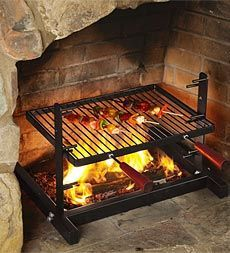 :: love this tuscan grill for the firepit