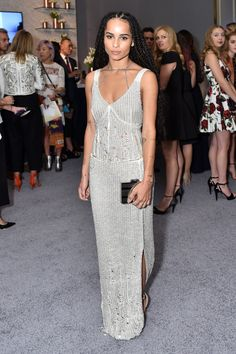 WHO: Zoë Kravitz   WHAT: Calvin Klein Collection   WHERE: Los Angeles   WHEN: October 19, 2015