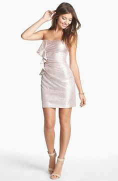 pretty metallic dress<3 Get 5% cash back: http://www.studentrate.com/lakeforest/get-lakeforest-student-deals/Nordstrom-Student-Discounts--/0