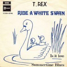 #doyouremember 2nd 1970 Continued Ride A White Swan B/W Is It Love & Summertime Blues Norwegian Sleeve #bolanlikestorock #TRex #kalmiyh #marcbolan #marcbolan #TyrannosaurusRex