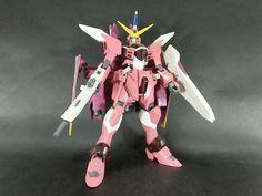 Bandai 1/100 Justice Gundam built model kit SEED Destiny Gunpla Action Figure #Bandai