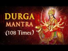 Powerful Maa Durga Mantra   Om Shree Durgaye Namaha   Non Stop   Navratri Special - YouTube