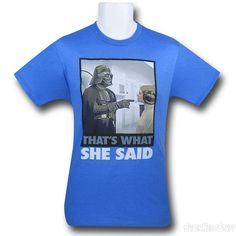 Images of Star Wars What She Said 30 Single T-Shirt