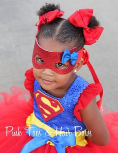 Super girl costume super girl tutu costume super by GlitterMeBaby