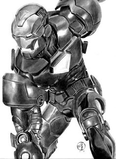Iron Man by Jay Fife