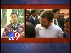 Rahul Gandhi meets State Congress leaders
