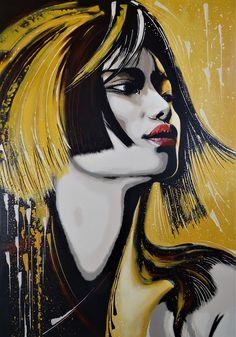 Cleopatra Original Livien Rózen Art, Painting (80x80 cm) #portrait #painting #art #womenartist #faceportrait #Impressionism #moody #contemporaryart #fineart #livienrozen #buyartonline Acrylic Painting Canvas, Painting Art, Buy Art Online, Cleopatra, Impressionism, Contemporary Art, Disney Characters, Fictional Characters, Fine Art